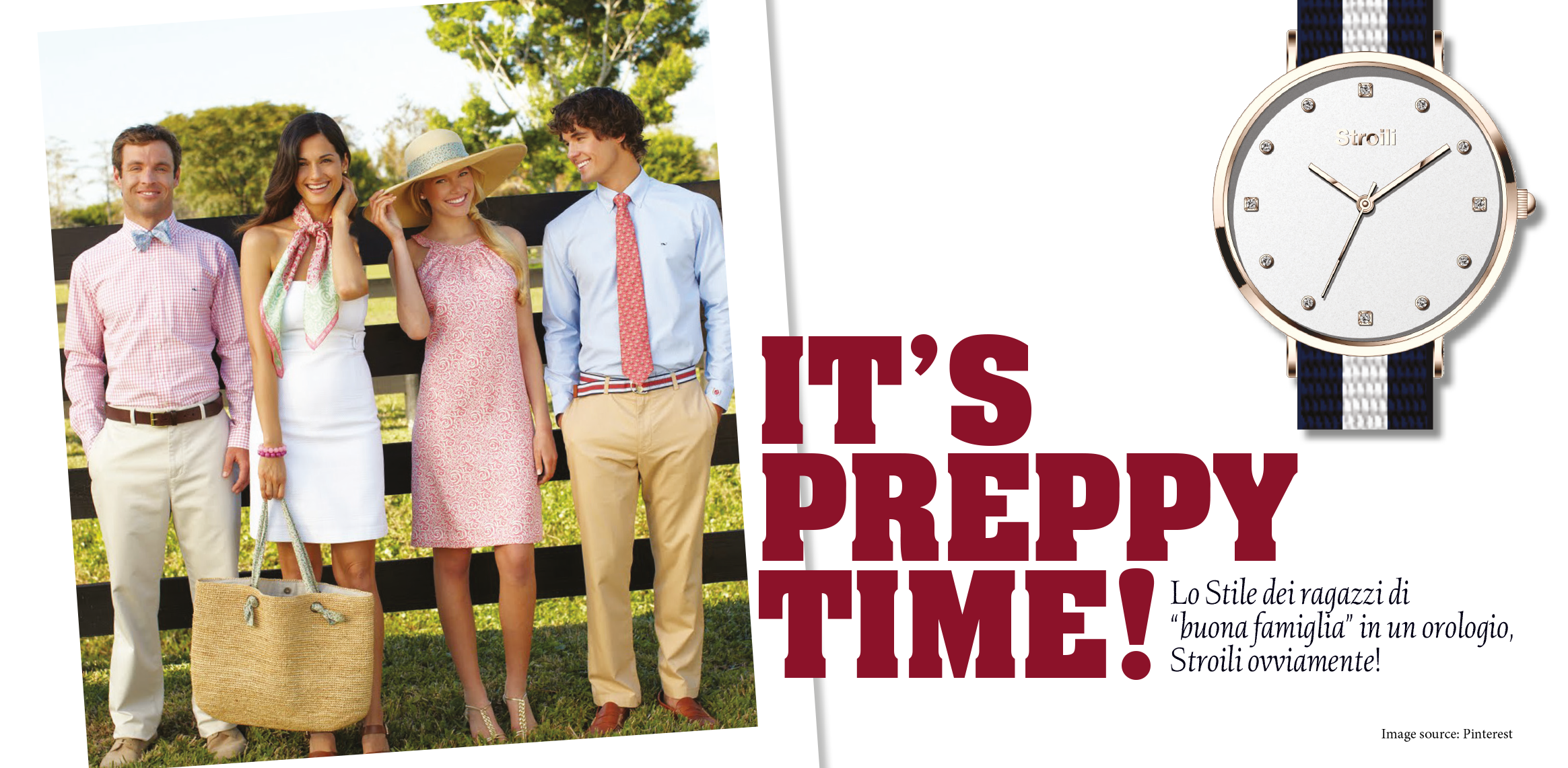 IT'S PREPPY TIME!